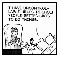 Dilbert-Urge