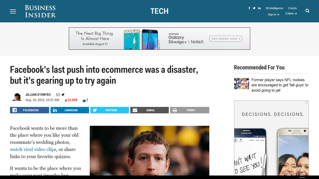 Top 5 Ecommerce Posts from Around the Web: Aug. 21