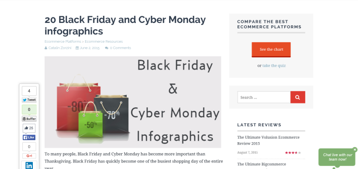 Black Friday, Cyber Monday and Holiday Tips for Ecommerce