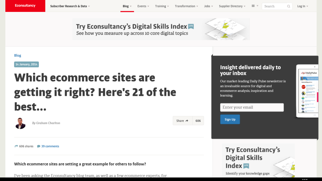 Best Ecommerce Sites
