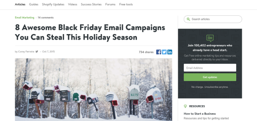 50+ Creative Black Friday Email Campaign Ideas
