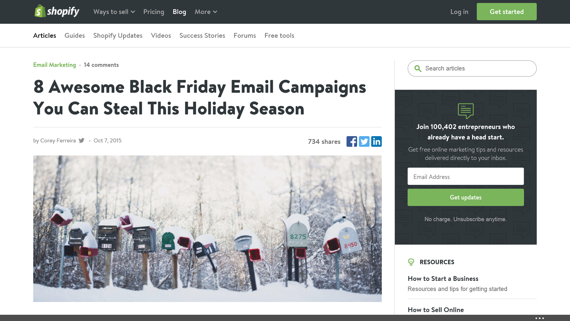 ba778722f 50+ Creative Black Friday and Holiday Email Campaign Ideas | Epic ...