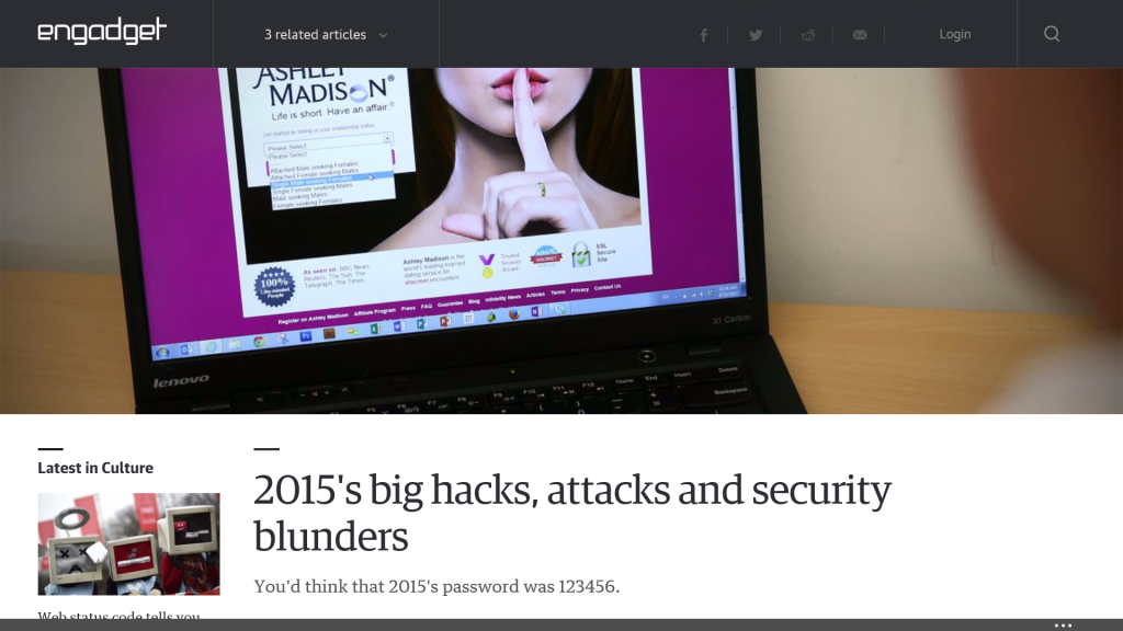 The Biggest Cyber Attacks of 2015