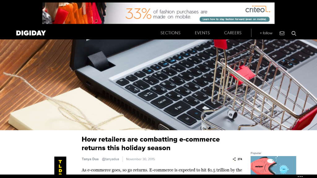 How To Reduce Holiday Ecommerce Returns