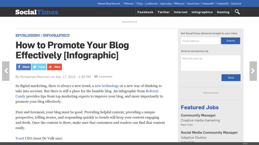 Amazingly Effective Ways to Promote Your Ecommerce Blog