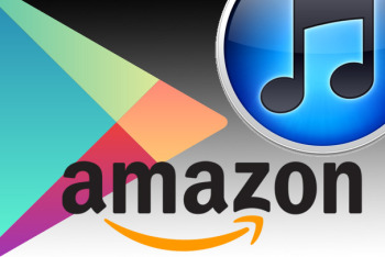 Amazon Google Play iTunes