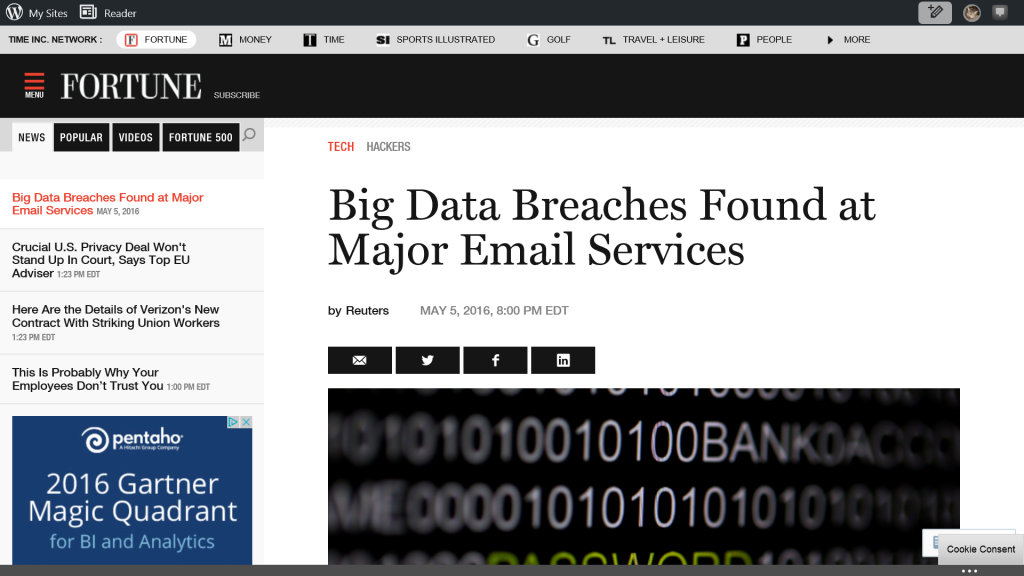 Details of LinkedIn, Tumblr, MySpace Data Breaches Revelead