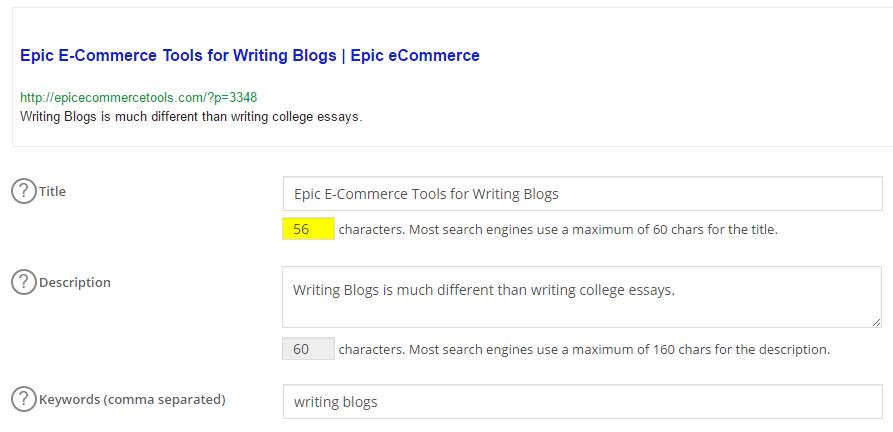 epic_e-commerce writing blogs